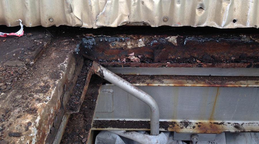 APS roof frame