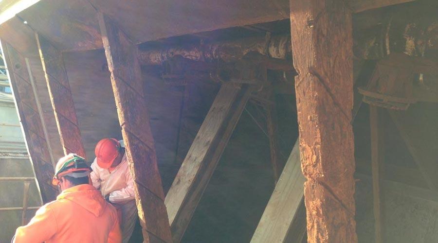 Degas repairs